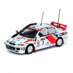 INNO MODELS INNO64 1/64 MITSUBISHI LANCER EVOLUTION III #7 SAFARARI RALLY 1996