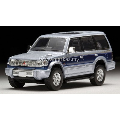 (PO) TOMICA LIMITED VINTAGE LV-N189B MITSUBISHI PAJERO SUPER EXCEED Z (SILVER/BLUE)