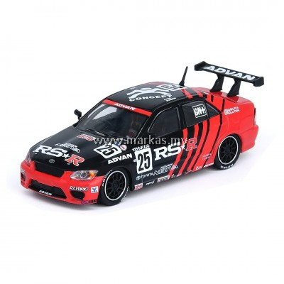 INNO MODELS INNO64 1/64 TOYOTA ALTEZZA RS200 #25 ADVAN RS1R - SUPER TAIKYU 2001