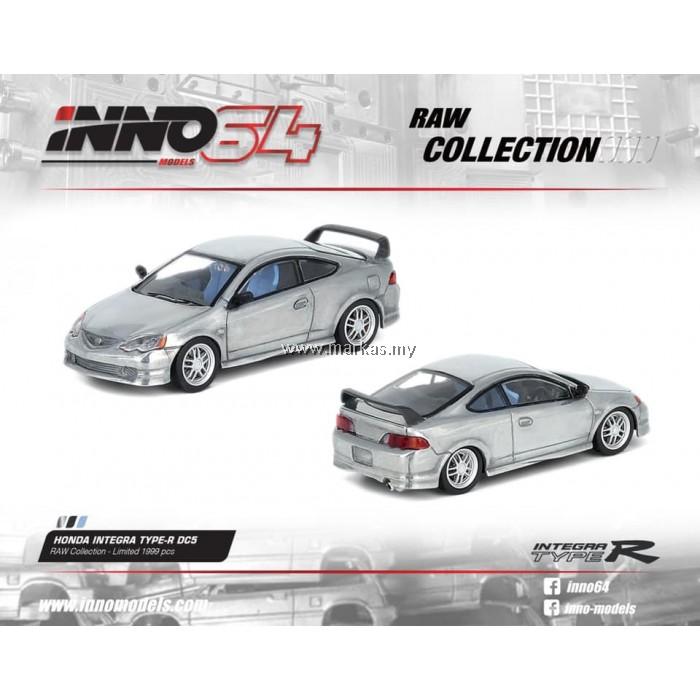 INNO MODELS INNO64 1/64 HONDA INTEGRA TYPE R DC5 RAW COLLECTION