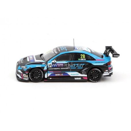 TARMAC WORKS 1/64 AUDI RS3 LMS WTCR RACE OF MACAU 2018