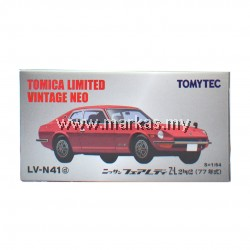 TOMICA LIMITED VINTAGE NEO LV-N41D NISSAN FAIRLADY Z - L2BY2 (WINE RED)