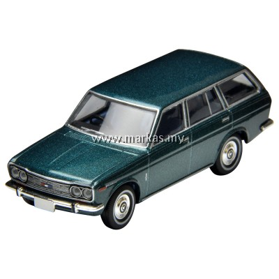 (PO) TOMICA LIMITED VINTAGE NEO LV-81C DATSUN BLUEBIRD ESTATE WAGON (BLUE)