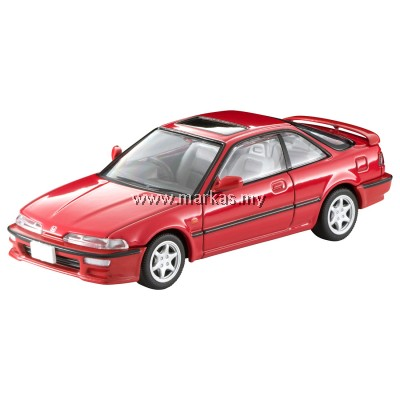 (PO) TOMICA LIMITED VINTAGE LV-N197A HONDA INTEGRA 3 DOORS COUPE XSI (RED)