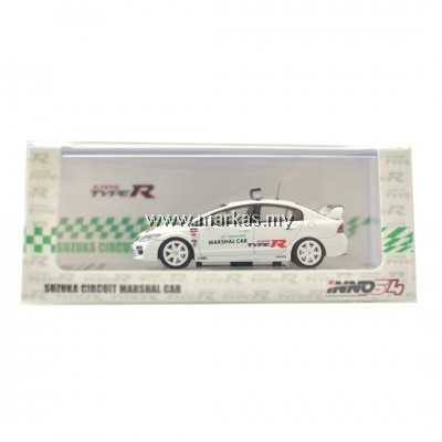 INNO MODELS INNO64 1/64 HONDA CIVIC TYPE-R FD2 SUZUKA CIRCUIT MARSHAL CAR