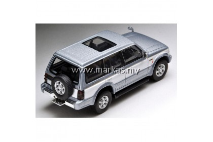 TOMICA LIMITED VINTAGE LV-N189A MITSUBISHI PAJERO SUPER EXCEED Z (SILVER/WHITE)