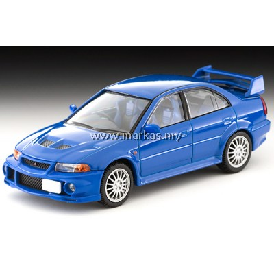 TOMICA LIMITED VINTAGE 1/64 LV-N190A MITSUBISHI GSR LANCER EVOLUTION VI (BLUE)