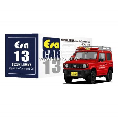 (PO) ERA CAR 1/64 #13 SUZUKI JIMNY - JAPAN FIRE COMMAND CAR