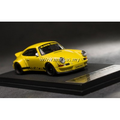 MODEL COLLECT 1/60 RWB PORSCHE 930 DUCKTAIL YELLLOW