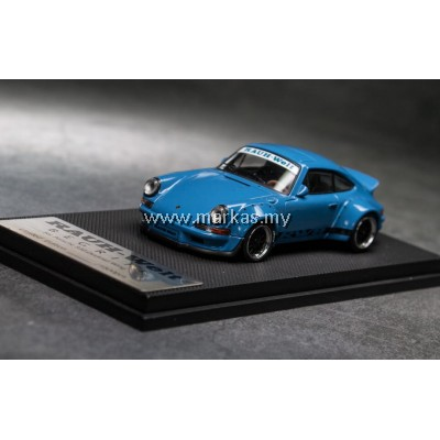 MODEL COLLECT 1/60 RWB PORSCHE 930 DUCKTAIL BLUE