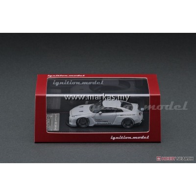 IGNITION MODEL 1/64 (JAPAN LIMITED) PANDEM R35 GT-R MATTE GRAY + TARMAC WORKS 1/64 SELECTION