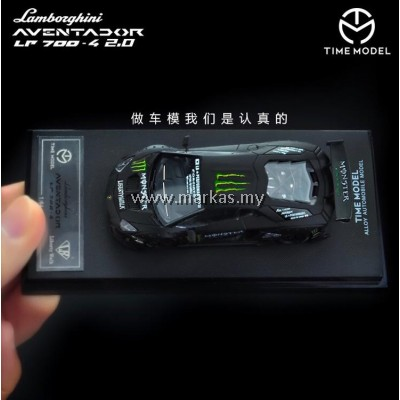 (PO) TIME MODEL 1/64 LAMBORGHINI AVENTADOR LP 700-4 MONSTER V2.0