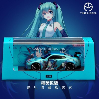 (PO) TIME MODEL 1/64 LB☆WORKS NISSAN GT-R R35 HATSUNE MIKU GT WING