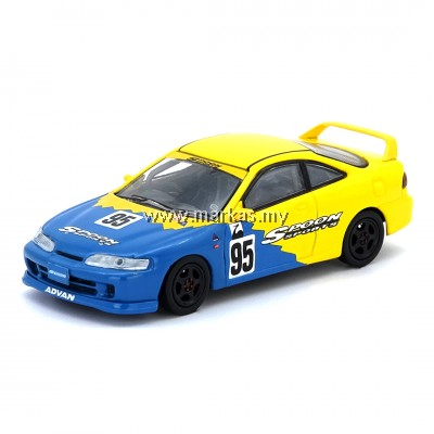 (PO) INNO MODELS INNO64 1/64 HONDA INTEGRA TYPE R DC2 #95 SPOON SPORTS