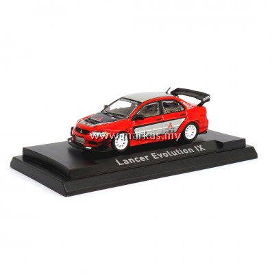 CM MODEL 1/64 MITSUBISHI LANCER EVOLUTION IX VOLTEX MALAYSIA SPECIAL EDITION