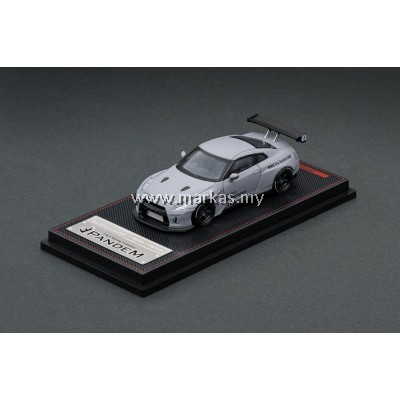 IGNITION MODEL 1/64 1749 PANDEM R35 GT-R MATTE GRAY