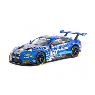 TARMAC WORKS 1/64 BMW M6 GT3 NURBURGRING 24H #101