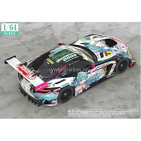 (PO) GOOD SMILE RACING 1/64 HATSUNE MIKU AMG 2019 SUPER GT VERSION (OFFICIAL PRODUCT)