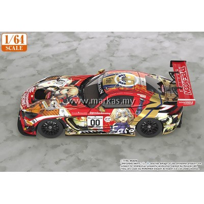 (PO) GOOD SMILE RACING 1/64 HATSUNE MIKU AMG 2019 TYPE-MOON RACING 2019 SPA24H VERSION (OFFICIAL PRODUCT)