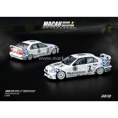 "INNO MODELS INNO64 1/64 BMW E36 320I #2 ""WARSTEINER"""