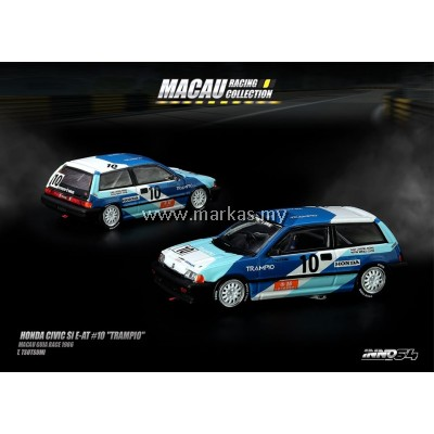 "INNO MODELS INNO64 1/64 HONDA CIVIC SI E-AT #10 ""TRAMPIO"""