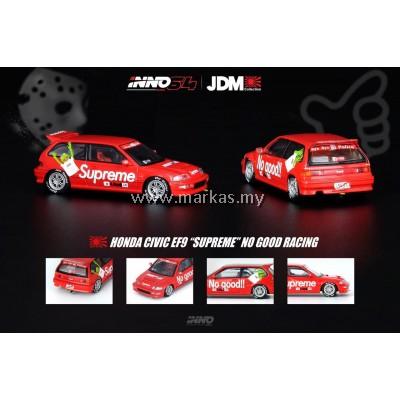 INNO MODELS INNO64 1/64 HONDA CIVIC EF9 SUPREME NO GOOD RACE JDM COLLECTION