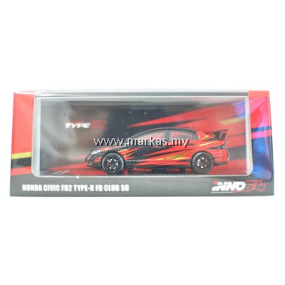 INNO MODELS INNO64 1/64 HONDA CIVIC FD2 TYPE-R FD CLUB SG