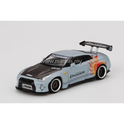 (PO) MINI GT 1/64 TAIWAN EXCLUSIVE PANDEM GT-R R35 GT WING ROCAF MALATAW FIGHTER LHD