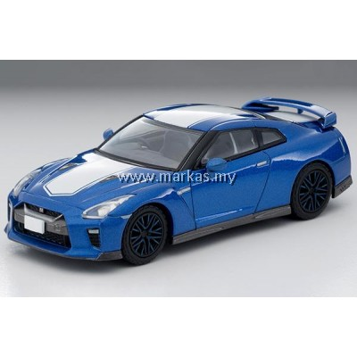 (PO) TOMICA LIMITED VINTAGE NEO LV-N200A NISSAN GT-R 50TH ANNIVERSARY (BLUE)
