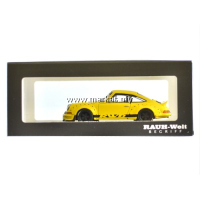 MODEL COLLECT 1/60 RWB PORSCHE 930 DUCKTAIL YELLOW