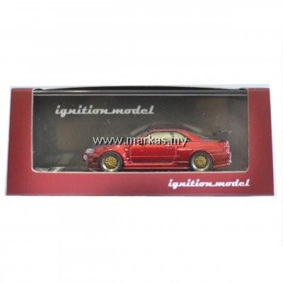 IGNITION MODEL 1/64 NISMO R34 GT-R Z-TUNE RED METALLIC (JAPAN SPECIAL)