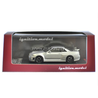 IGNITION MODEL 1/64 NISMO R34 GT-R Z-TUNE SILVER (NISMO SPECIAL EVENT)