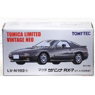 TOMICA LIMITED VINTAGE NEO LV-N192A MAZDA SAVANNA RX-7 GT-X (GREY)