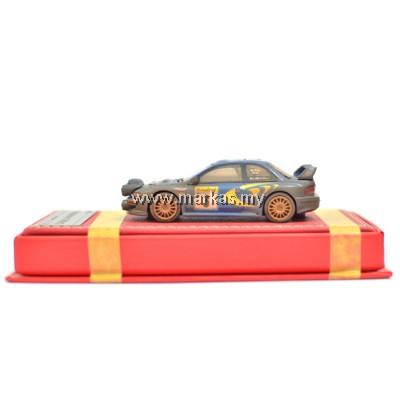 VIP MODELS 1/64 SUBARU WRC 22B (RALLY MUD WITH LIGHT POD)