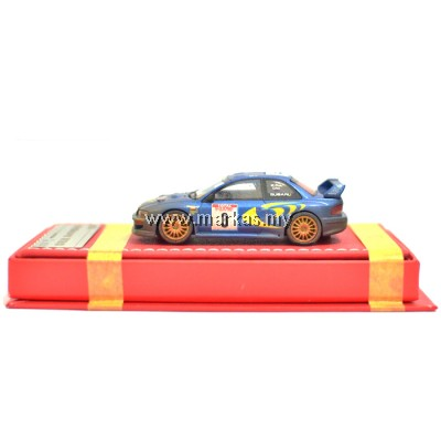 VIP MODELS 1/64 SUBARU WRC 22B (RALLY MUD)