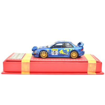 VIP MODELS 1/64 SUBARU WRC 22B (RALLY LIGHT POD)