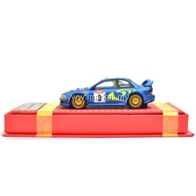 VIP MODELS 1/64 SUBARU WRC 22B (RALLY STANDARD)