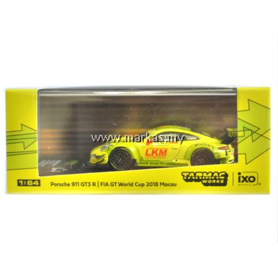 TARMAC WORKS 1/64 PORSCHE 911 GT3 R MACAU GT CUP FIA GT WORLD CUP 2018 #911 LAURENS VANTHOOR **MACAU GP 2019 SPECIAL EDITION*