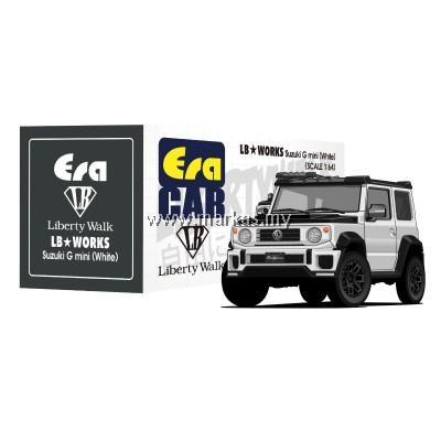 (PO) ERA CAR x LIBERTY WALK LB WORKS 1/64 SUZUKI G MINI SP EDITION (WHITE)