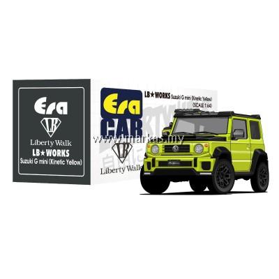 (PO) ERA CAR x LIBERTY WALK LB WORKS 1/64 SUZUKI G MINI SP EDITION (KINETIC YELLOW)