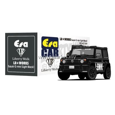 (PO) ERA CAR x LIBERTY WALK LB WORKS 1/64 SUZUKI G MINI SP EDITION (LIGHT BLACK)