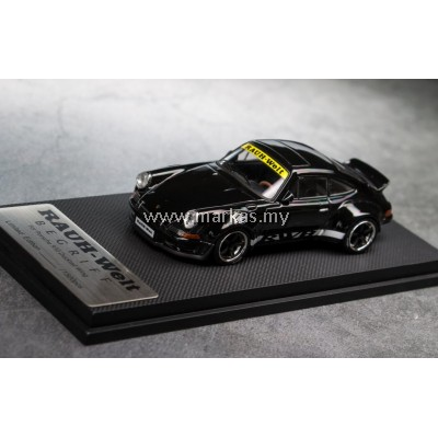 MODEL COLLECT 1/60 RWB PORSCHE 930 DUCKTAIL METALLIC BLACK