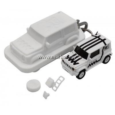 ERA CAR X 4A 1/64 SUZUKI JIMNY SIERRA WHITE BOX -WHITE MATTE BLACK