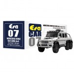 ERA CAR 1/64 #07 MERCEDES-BENZ G63 AMG 6x6 SPOTLIGHT 1ST SPECIAL EDITION (WHITE)