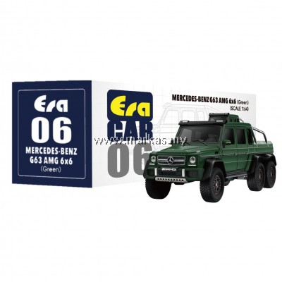 ERA CAR 1/64 #06 MERCEDES-BENZ G63 AMG 6x6 (GREEN)