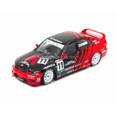 INNO MODELS INNO64 X POPRACE 1/64 TOYOTA ALTEZZA RS200 #11