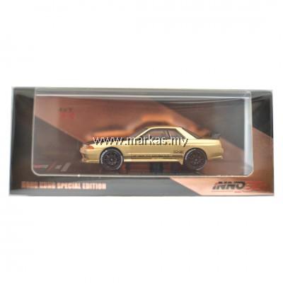 INNO MODELS INNO64 1/64 NISSAN SKYLINE GTR R32 ROSE GOLD HONG KONG SPECIAL EDITION