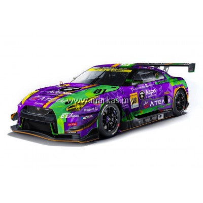 MINI GT X POP RACE 1/64 HK EXCLUSIVE EVA RT TEST TYPE-01 X WORKS GTR #33 SUPER GT300 2019