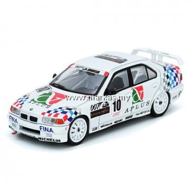 INNO MODELS INNO64 1/64 BMW E36 318i #10 JAPAN TOURING CAR CHAMPIONSHIP 1994 TEAM SCHNITZER -STEVE SOPER