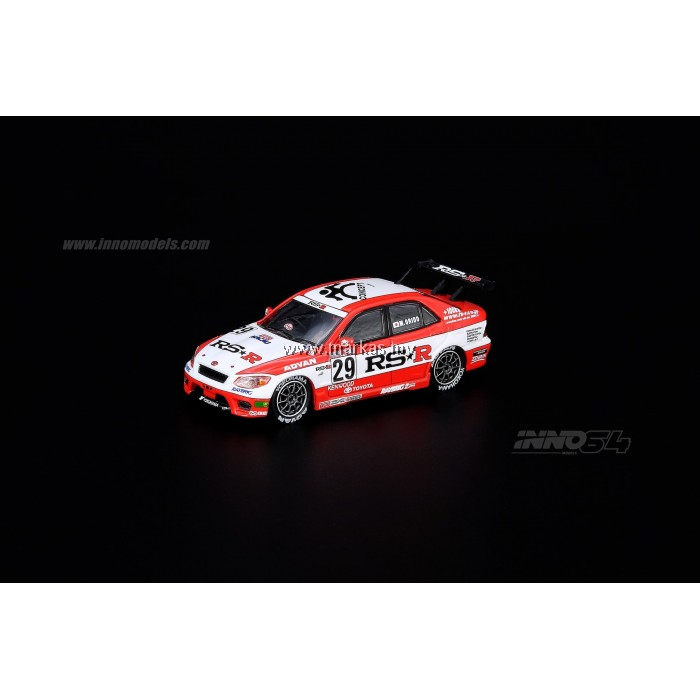 "INNO MODELS INNO64 1/64 TOYOTA ALTEZZA #29 ""TEAM RS*R"" MACAU GP 2000"